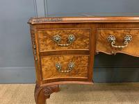 Good Queen Anne Style Burr Walnut Writing Desk (12 of 18)