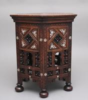 19th Century Moorish Occasional Table (5 of 9)