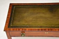 Antique Sheraton Period Inlaid Mahogany Writing Table Desk (11 of 11)