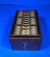 Victorian Inlaid Mahogany Crib  Box (13 of 20)