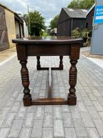 19th Century Oak Refectory Table (5 of 6)
