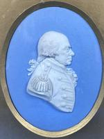 Victorian Framed Wedgwood Panel of a Military Gent (2 of 3)