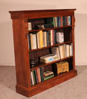 Open Bookcase in Walnut-19th Century - England (6 of 10)