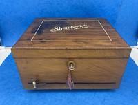 Victorian  Walnut Symphonian Music Box (12 of 22)