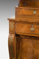 Attractive Regency Period Rosewood Side Cabinet (3 of 5)
