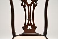 Set of 8 Antique Mahogany Chippendale Dining Chairs (10 of 14)