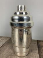 French Art Deco Stepped Silver Plated Cocktail Shaker (4 of 7)