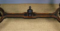 Outstanding Aesthetic Ebonised Burr Walnut Table c.1870 (6 of 10)