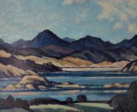 Oil Painting of Highlands (2 of 4)