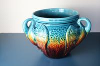 Aesthetic Movement / Arts & Crafts Ault art-pottery tri-Handled Jardinière c.1895 (22 of 27)