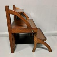 Set of Metamorphic Steps in Leather & Mahogany (5 of 9)