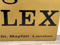 Rolex Shop Front Adverting Heavy Swinging Sign Mayfair London (11 of 27)