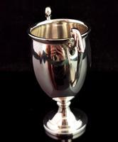 Vintage Sterling Silver Trophy Cup, Art Deco (3 of 9)