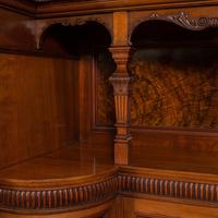 Large Fine Antique Wardrobe Compactum, English, Walnut, Gillow & Co, Victorian (8 of 12)