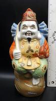 1960's Japanese Porcelain Saki Decanter - Still Sealed - Ebisu God of Fishermen (7 of 7)