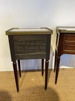 Pair of Mahogany 2 Drawer Bedside Cabinets (3 of 5)