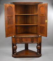 Oak Corner Cupboard by Liberty & Co (8 of 9)