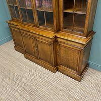 Super Quality Solid Oak Antique Library Bookcase (8 of 9)
