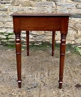 Antique Victorian Mahogany Side Table (7 of 17)