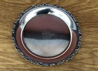 Early 20th Century Tiffany & Co Solid Silver Card Tray / Dish (3 of 7)
