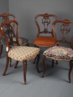 Set of 6 Mid Victorian Rosewood Dining Chairs (7 of 14)