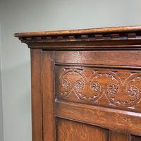 Quality Oak Antique Hall Wardrobe by Wylie & Lochhead (6 of 7)