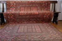 Large Mid 20th Century Afghan Ensi Rug (3 of 13)