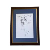 Set of 9 Original Drawings by Ian Thomas - Dressmaker for the Royal Family (7 of 9)