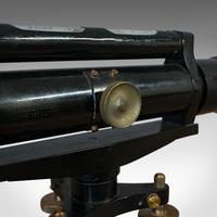 Antique Surveyor's Level, English, Brass, Scientific Instrument, Halden & Sons (4 of 11)