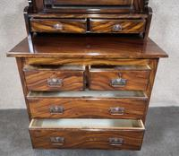 Edwardian Simulated Walnut Bedroom Suite (19 of 21)