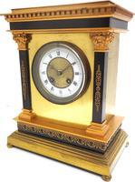 Wow! Amazing French Solid Ormolu Mantel Clock 8 Day Striking Mantle Clock (4 of 12)