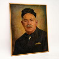 Antique Middle Eastern Oil  Painting (2 of 9)