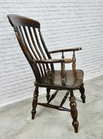 Large 'Grandfather' Windsor Armchair (4 of 6)