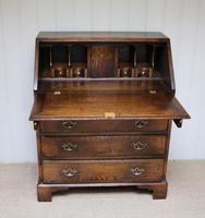 Vintage Oak Bureau (3 of 10)