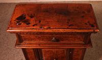 Prie-dieu Or Oratory in Walnut & Burl Walnut c.1600 (13 of 13)
