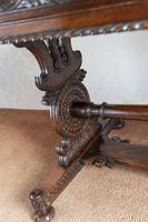 Hardwood Stretcher Table from the Late Regency Period (3 of 11)