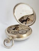 1937 Silver Revue Pocket Watch (4 of 5)