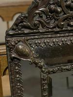 French Copper Cushion Mirror (6 of 7)