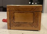 19th Century French Applewood Glove Box (13 of 17)
