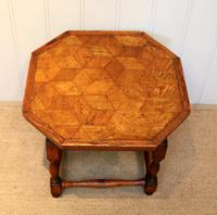 Small Oak Parquetry Top Table (10 of 10)