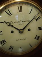 George IV Mantel Clock by Charles Valogne, London (6 of 10)