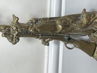 Victorian Brass Hunting Dog Fire Companion Set (17 of 40)