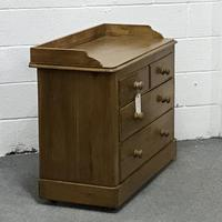 Late Victorian Pine Chest of Drawers (2 of 6)