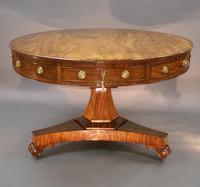 William IV Mahogany Drum Table (2 of 6)