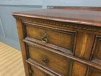 Oak Jacobean Style Chest of Drawers (8 of 13)