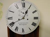 Mahogany Tavern Clock / Wall Clock (5 of 8)