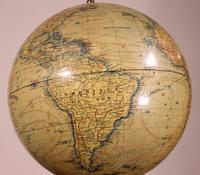 Terrestial Globe From J.lebègue & Cie Circa 1890 From Paris (8 of 12)