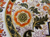 Decorative Pair of 19th Century Ironstone Plates G L Ashworth (6 of 6)