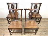 Set of Four 19th Century Oak Dining Chairs (2 of 10)