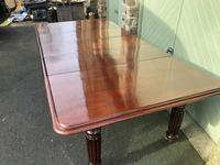 Antique Mahogany 3 Leaf Extending Dining Table (7 of 12)
